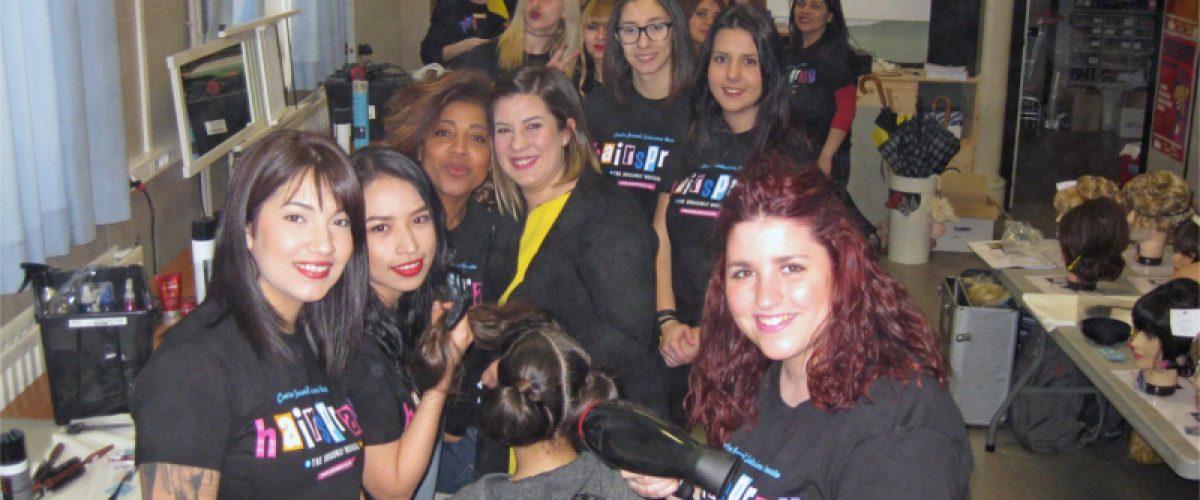 Centro Fernando peina en el musical Hairspray de Salesianos