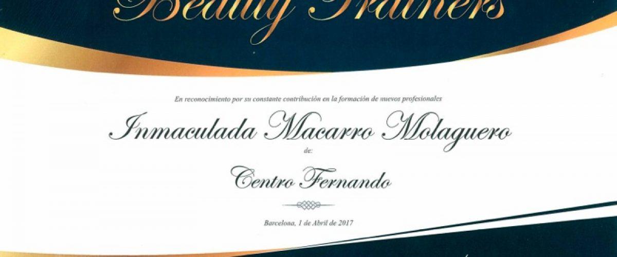 Centro de Peluquería Fernando recibe el reconocimiento del sector por su labor docente