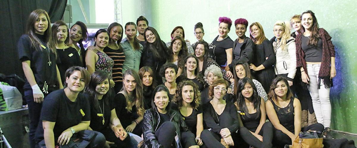 Colaborando en la Pasarela Moda Sestao