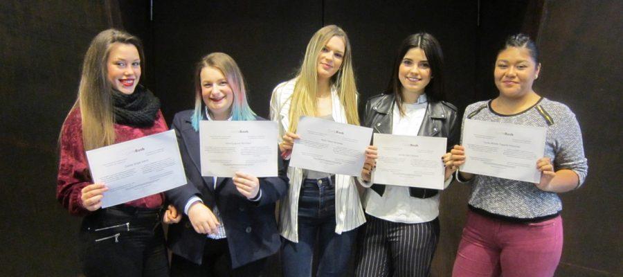 Formación en Centros de Trabajo: Entrega Diplomas curso 2016-2017