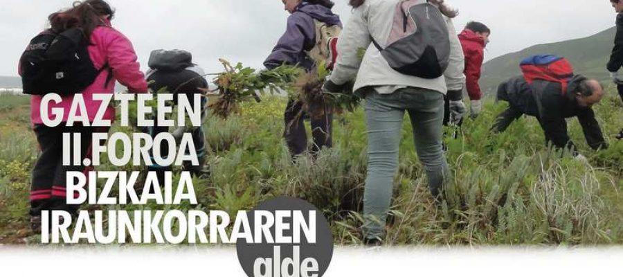 Informe final: II Foro de Jóvenes. Por una Bizkaia sostenible