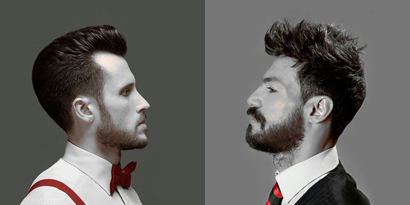 Corte de pelo caballero