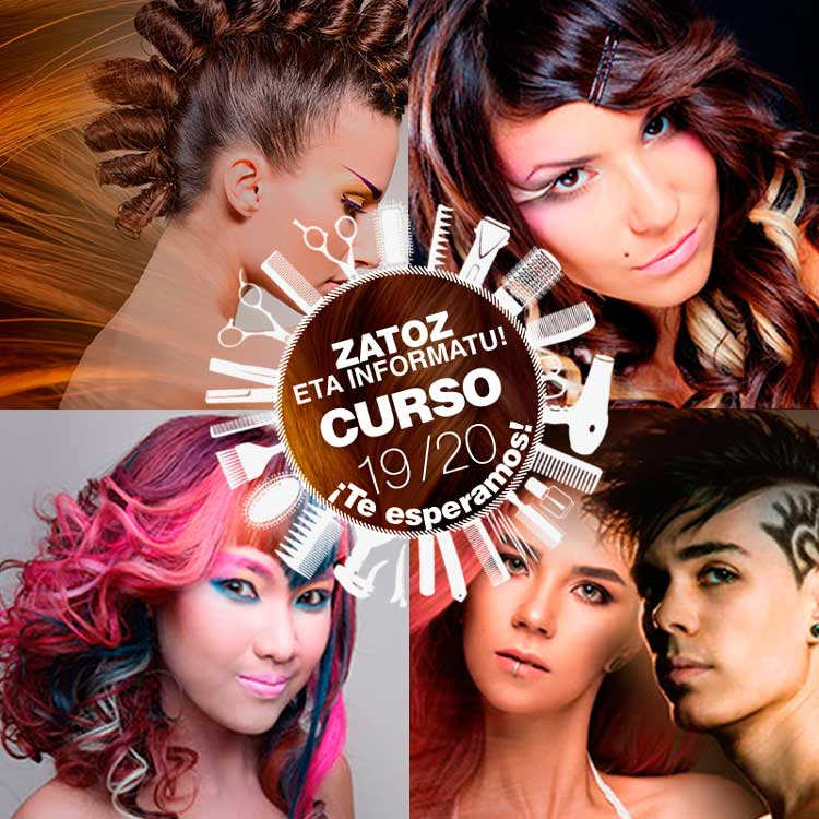 información cursos de peluquería y estética