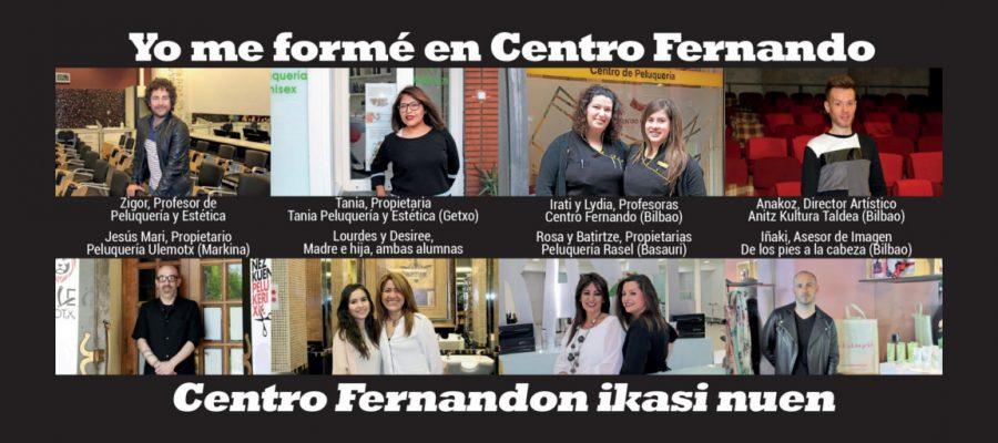 """""""Estudiar en Centro de Peluquería Fernando me ha abierto las puertas de la profesión"""""""